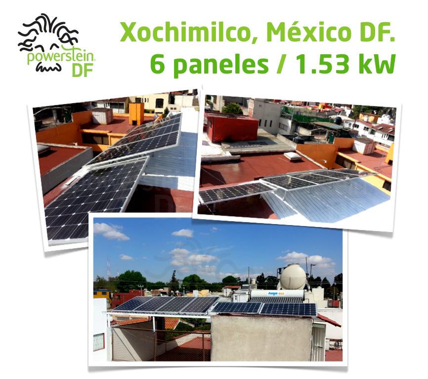 instalacion xochimilco