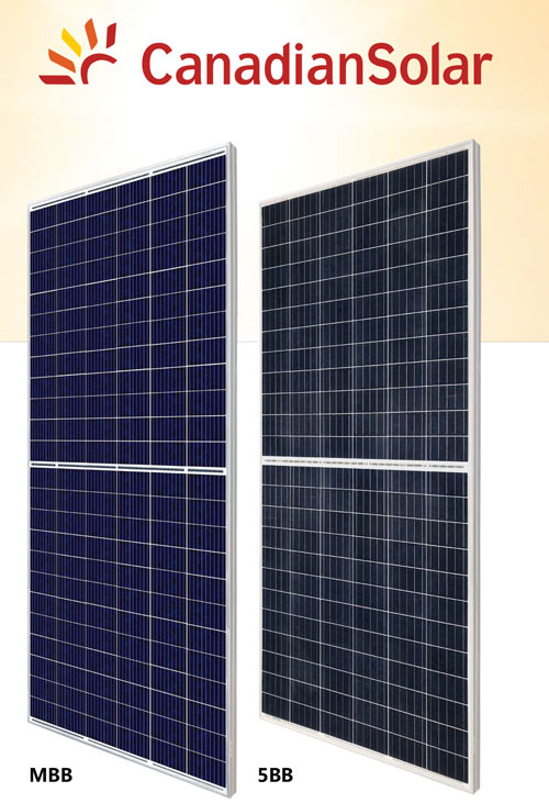 KuMax - Paneles Solares CanadianSolar