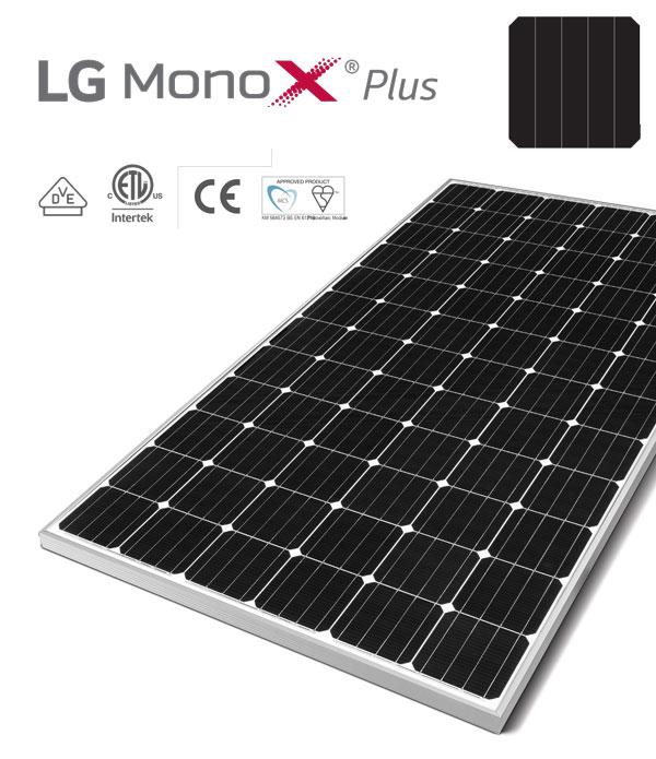 Paneles Solares - LG Mono X Plus